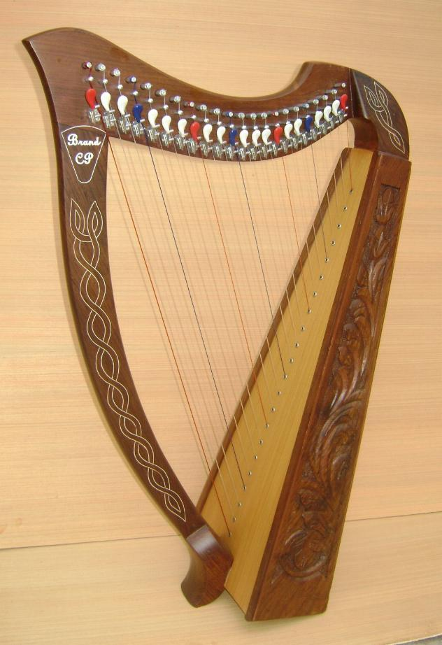 newly made harps your 27 string harp look like this