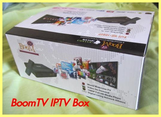 boom tv box